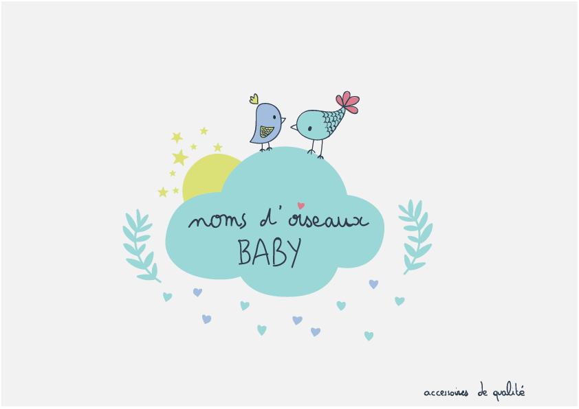 noms d'oiseaux baby