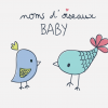 logo noms d'oiseaux baby par camille garnier