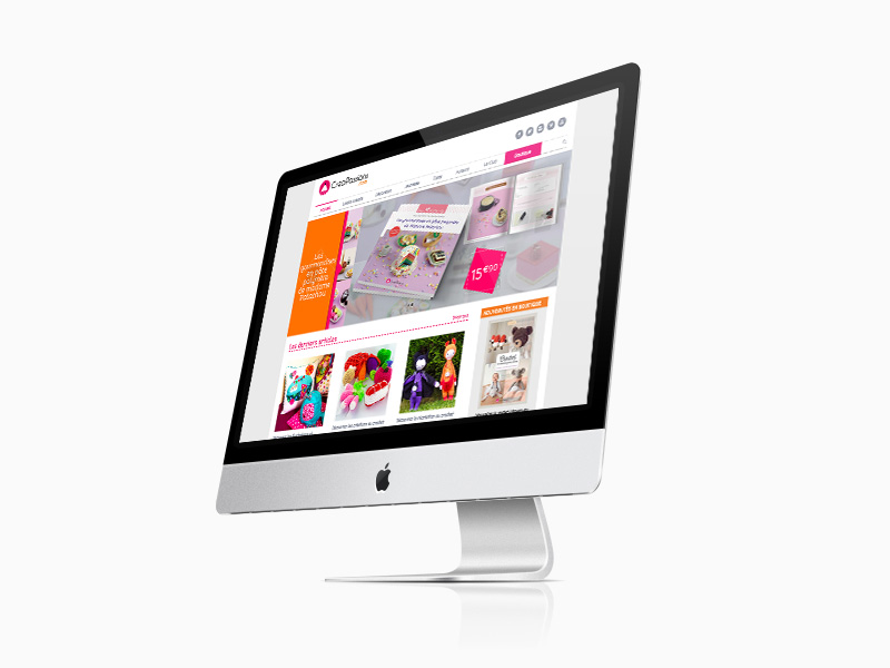 refonte site internet creapassions
