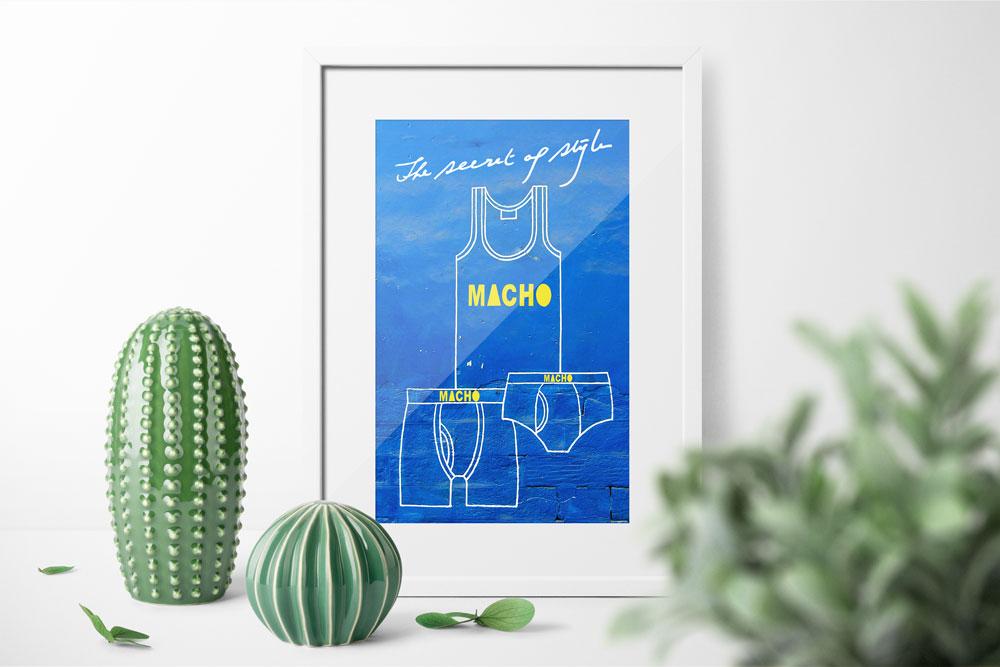 Affiche• Macho style