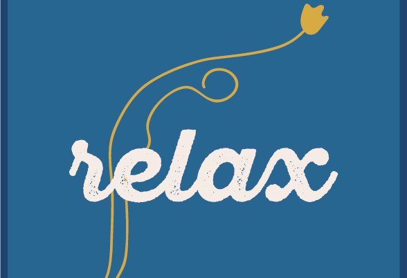 logo du centre relax par camille garnier