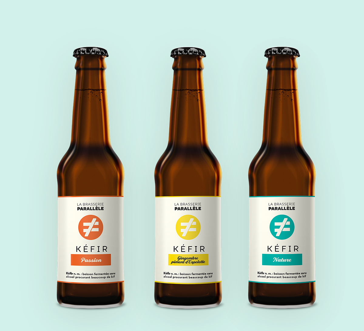 packaging brasserie parallele