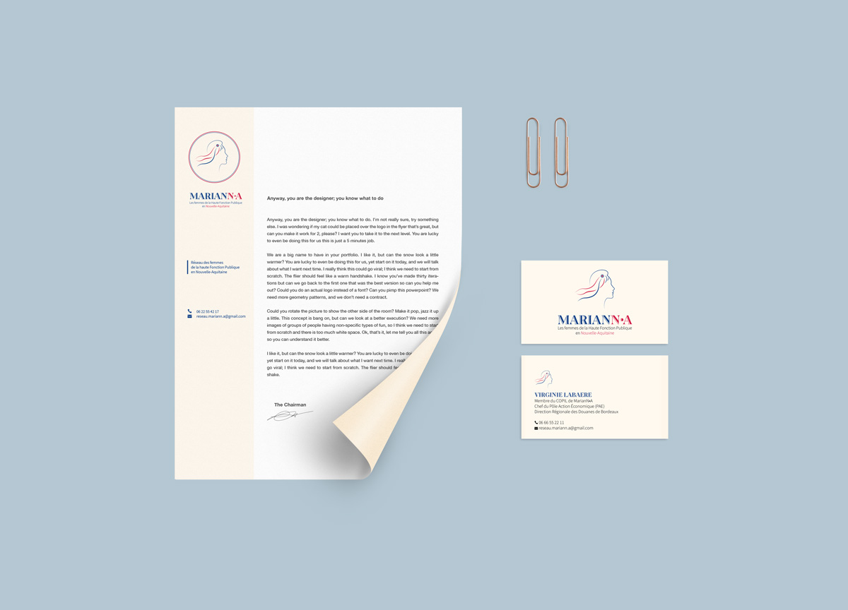 lettre A4 Marianna
