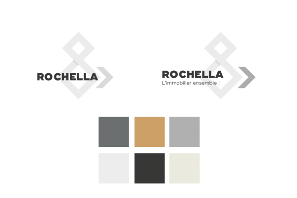 recherche graphique logo rochella