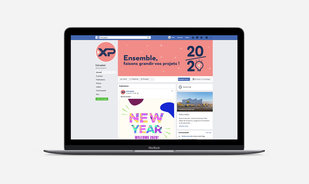 page facebook extruplast
